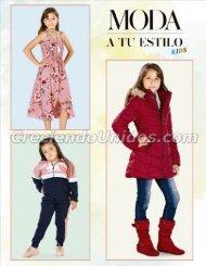 #734 Catalogo Moda a tu Estilo Kids, Ropa para Ninas 2021 Precios de Mayoreo