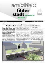 So 02. - Stadt Filderstadt