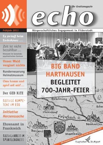 BIG BAND HARTHAUSEN BEGLEITET 700-JAHR-FEIER - echo