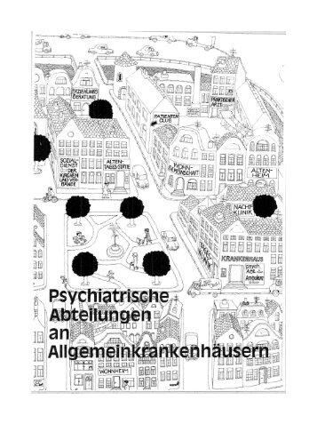 Psychiatrische Abteilungen an Allgemeinkrankenhäusern - Aktion ...
