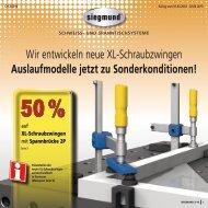 Aktions-Angebot - LWB SchweissTechnik