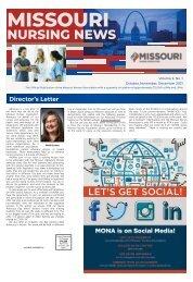 Missouri Nursing New - October 2021