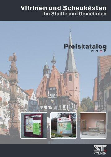 PDF Preiskatalog SG - ST-Vitrinen