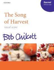 Bob Chilcott - Song of Harvest