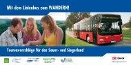 Mit dem Linienbus zum WANDERN! - ZWS