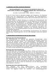 1. Aufgaben und Ziele schulischer Beratung - St.-Vitus-Grundschule