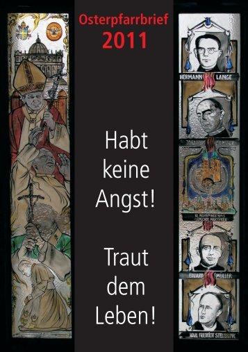 ostern 2011 - Sankt Ludgerus Schapen