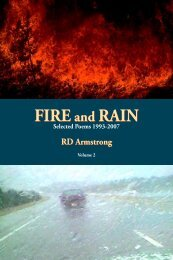 FIREand RAIN FIREand RAIN Selected Poems ... - Lummox Press