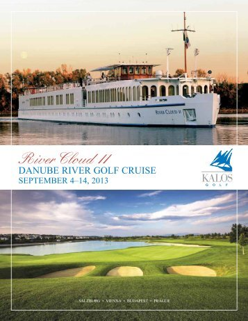 danube riVer golf CruiSe - Kalos Golf