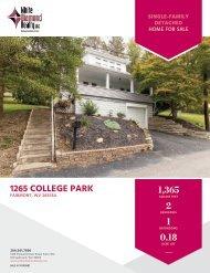 1265-College-Park-Marketing Flyer
