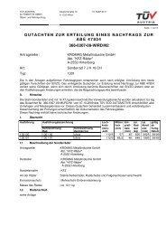 gutachten zur erteilung eines nachtrags zur abe 47804 366-0307-09 ...