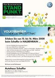 Radkersburger Standpunkt - Ausgabe 01/2008 - Steirische Volkspartei