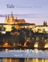 Connoisseurs' Prague - Yale University