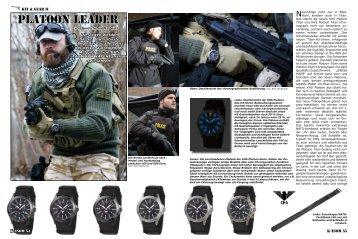 Platoon leader - Uhren Shop