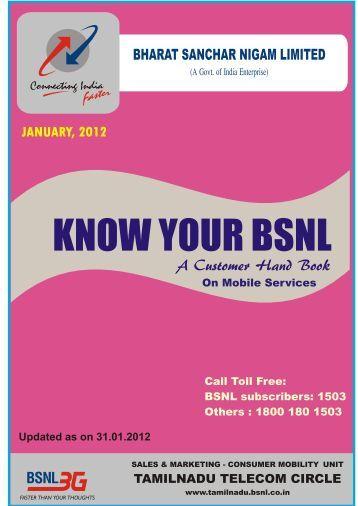 Know Your BSNL JAN 2012.pdf - SNEA Tamilnadu