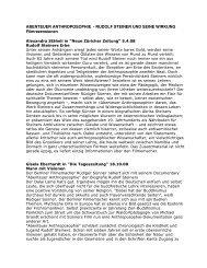 ABENTEUER ANTHROPOSOPHIE - RUDOLF ... - Rüdiger Sünner