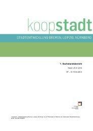 1. Sachstandsbericht - Koopstadt