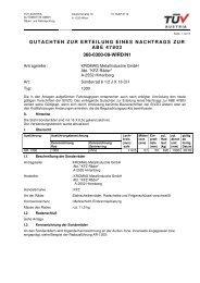 gutachten zur erteilung eines nachtrags zur abe 47803 366-0300-09 ...