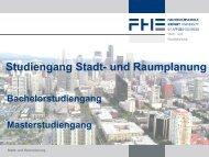 Kurzpräsentation (PDF) - Fachhochschule Erfurt