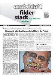 Streuobstbörse 2011 - Stadt Filderstadt