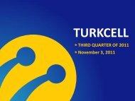 Q3 2011 Results Presentation - Turkcell