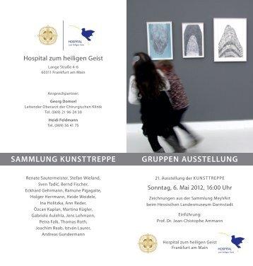 kunsttreppe ausstellung - Stiftung Hospital zum Heiligen Geist