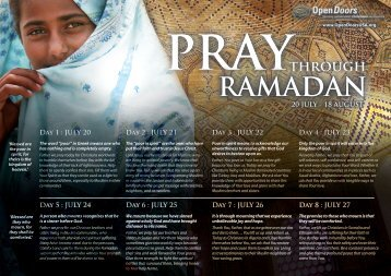 through PRAY RAMADAN - Clover