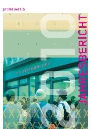Jahresbericht 2010 (PDF) - Pro Helvetia