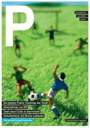 Die besten Public Viewings der Stadt Alternativen zur ... - P-Magazin