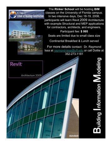 Email Address - ME Rinker, Sr., School of Building Construction ...
