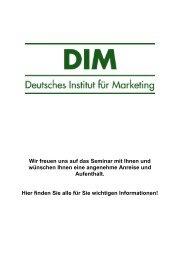 köln-tipps - Deutsches Institut für Marketing