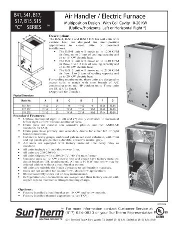 air handler electric furnace suntherm?quality=85 air handlers ahp ma avy mv master suntherm wiring diagram at readyjetset.co
