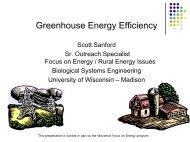 Greenhouse Energy Efficiency