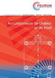 Accumulateurs de chaleur et de froid - FEURON AG