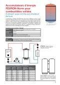 Accumulateurs de chaleur et de froid - FEURON AG - Page 5