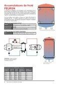 Accumulateurs de chaleur et de froid - FEURON AG - Page 6