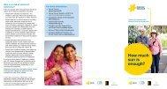 How much sun is enough? brochure - SunSmart