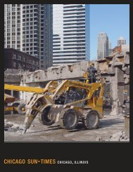 Chicago Sun-Times Building - Brandenburg Industrial Service Co.