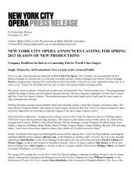 new york city opera announces casting for spring 2013 season of ...