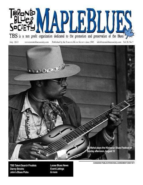 2012 14&15th JULY 13 2012 14&15th JULY 13 - Toronto Blues ...