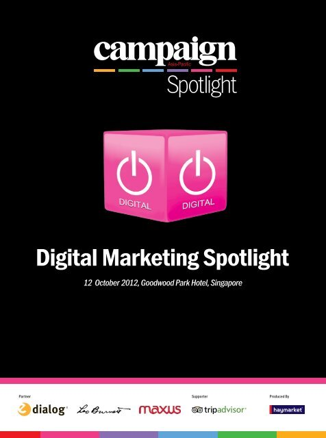 Speakers - Campaign Spotlight