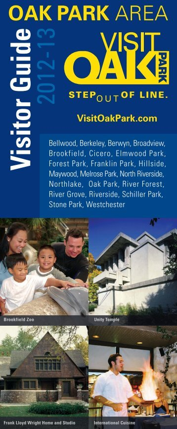 Visitor Guide - Oak Park Area Visitors Bureau