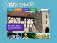 The Tudors Part 2 - Kids Corner
