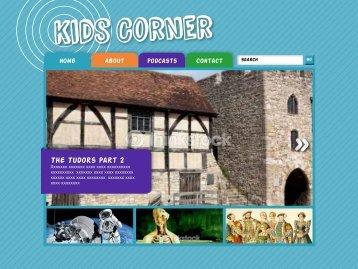 The Tudors Part 2 - Kids Corner