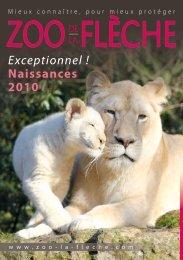 Exceptionnel ! Naissances 2010 - Zoo de la Flèche