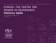 CEWIGO: THE CENTRE FOR WOMEN IN ... - Peace Geeks