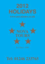 England - Nova Tours