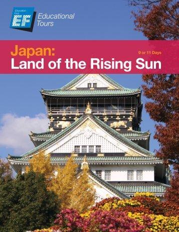 Japan: Land of the Rising Sun - EF Tours