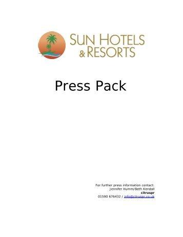 Press Pack - Olhuveli Beach & Spa Resort