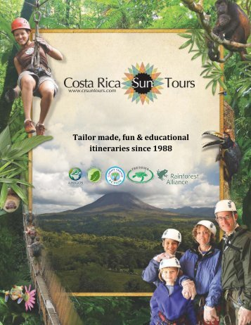 tropical forest & manuel antonio - Costa Rica Sun Tours